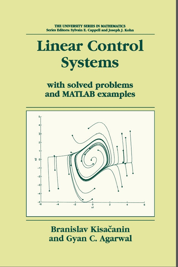 Linear Control Systems with solved problems and MATLAB examples