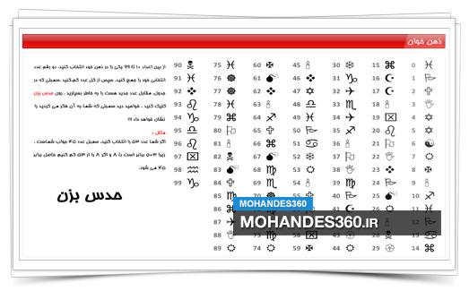 سورس پروژه ذهن خوان - در قالب فایل فلش