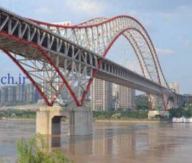 عنوان پاورپوینت: پل های قوسی 15صفحه