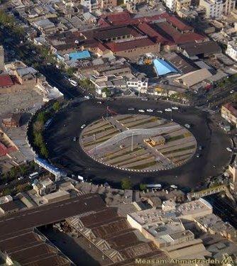 طرح نهایی مرمت میدان محمدیه (اعدام)