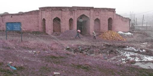 طرح نهایی مرمت کاروانسرای تاج آباد