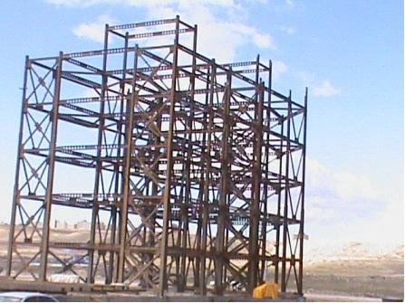 کارآموزی مدیریت، نظارت و اجرای نقشه های ساختمانی (اسکلت فلزی)