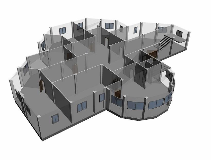 طراحی معماری مدرسه