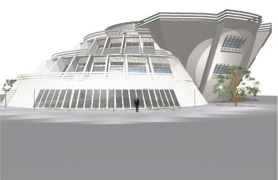 طراحی معماری هتل