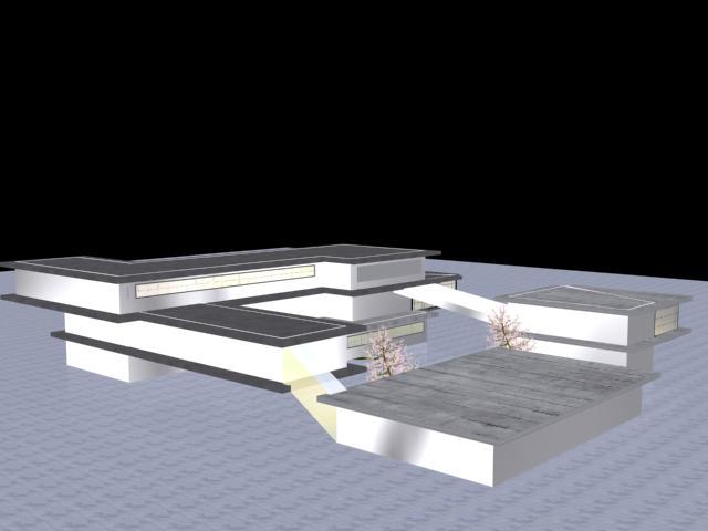 طراحی معمارانه مدرسه