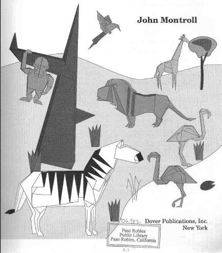 کاردستی حیوانات کاغذی