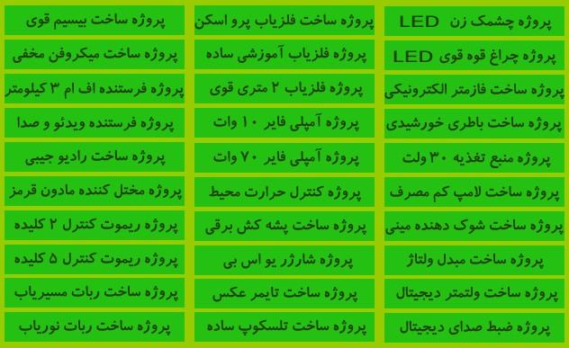پکیج کامل آموزش تضمینی تعمیرات اکتریک و الکتروتکنیک و الکترونیک
