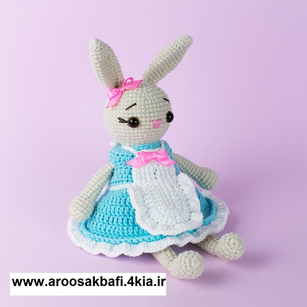 آموزش بافت خرگوش مادر کد 855