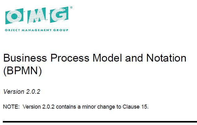 متن کامل انگلیسی _ زبان استاندارد مدل سازی فرایندهای کسب و کار - BPMN _ ویراست_2.0.2  _ 2013