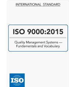 متن کامل انگلیسی _ استاندارد بین المللی ایزو 9000 - سیستم های مدیریت کیفیت _ISO_9000:2015