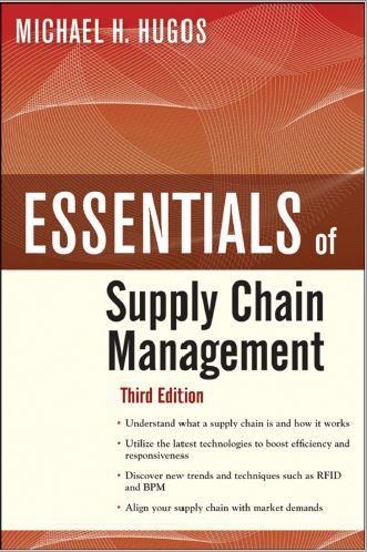 متن کامل انگلیسی_مبانی مدیریت زنجیره تامین _Essentials of Supply Chain management_Hugos_3th ed