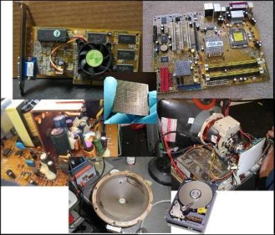 آموزش تعمیرات تخصصی قطعات کامپیوتر به صورت فیلم د 4 دی وی دی