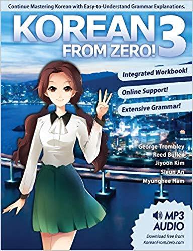 خرید و دانلود کتاب زبان کره ای کره ای از صفر سه Korean From Zero! 3