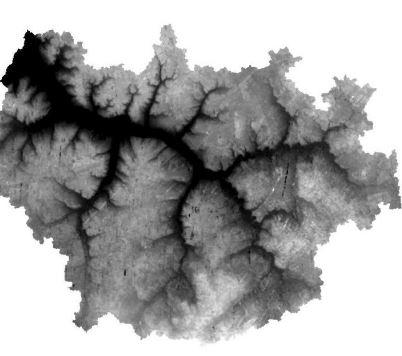 دانلود نقشه DEM کوه دماوند