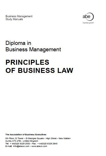 اصول و مبانی قانون تجارت
