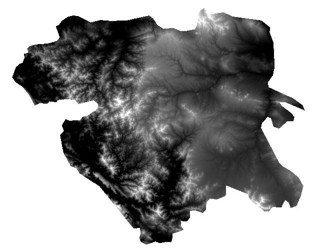 دانلود DEM استان کردستان