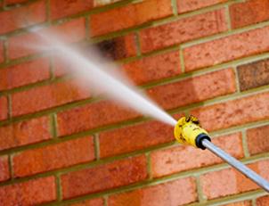 تمیز کردن نمای ساختمان