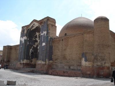 معماری مسجد کبود تبریز
