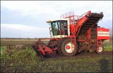 دانلود پاورپوینت رشته کشاورزی ماشین برداشت چغندر قند