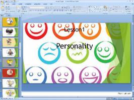 پاورپوینت درس اول زبان انگلیسی پایه نهم Talking about Personality