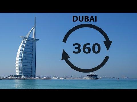 ویدیو 360درجه واقعیت مجازی کشور دبی
