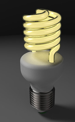 مدل لامپ کم مصرف در کتیا