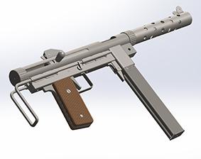 طراحی اسلحه m45 در سالیدورک