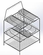 طراحی مدل جاظرفی در سالیدورک