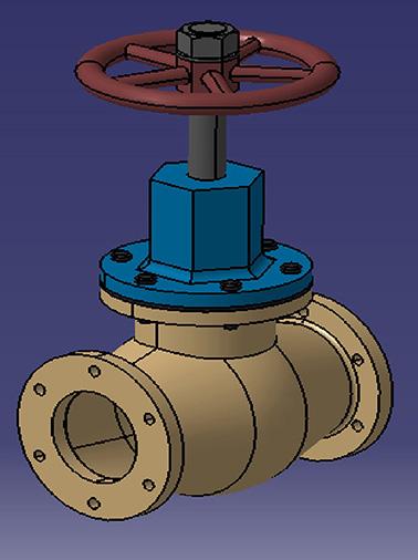 پروژه شیر آب pipe_valve