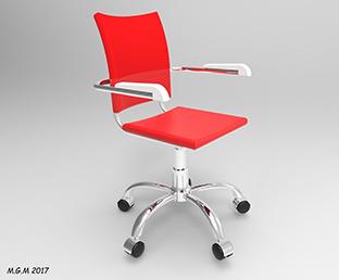 طراحی صندلی دفتری در سالیدورک