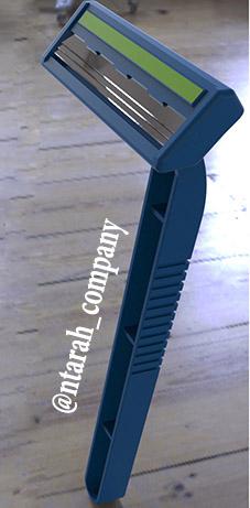 طراحی ژیلت سه تیغ در سالیدورک