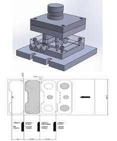 طراحی قالب برش در سالیدورک