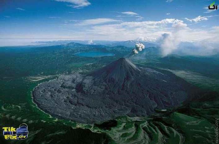 پاورپوینت پیش بینی وقوع آتشفشان