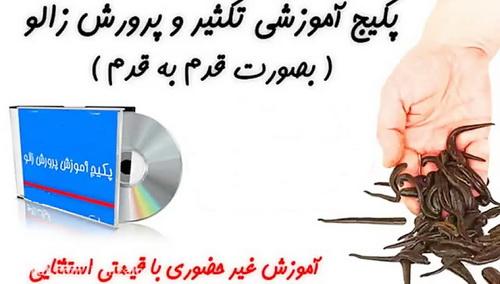 راهنمای عملی پرورش زالو در ایران