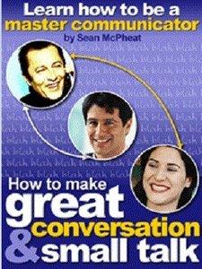 کتاب How to make  a great conversation and small talk  ( آموزش مکالمه خوب به زبان انگلیسی )