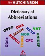 دیکشنری اختصارات انگلیسی ( Dictionary of Abbreviations )