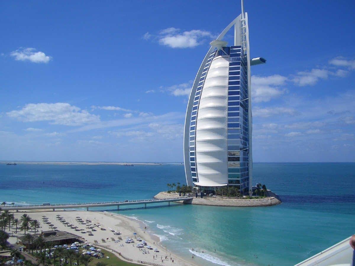سه بعدی برج العرب دبی