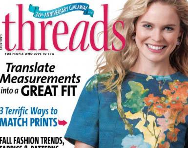 f1a17d394 مجله خیاطی Threads نوامبر ۲۰۱۵