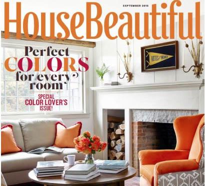 مجله House Beautiful سپتامبر ۲۰۱۵