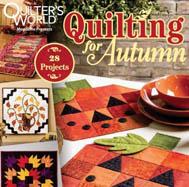 مجله تکهدوزی Quilting for Autumn نوامبر ۲۰۱۵