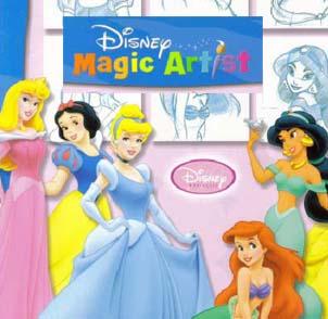 دانلود کتاب آموزش طراحی شخصیت های دیزنی Learn to Draw Disney Princesses