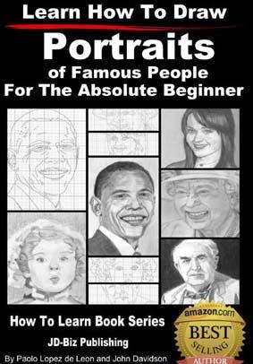 دانلود کتاب آموزش طراحی و نقاشی از پرتره افراد معروف