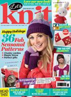 مجله بافتنی Let's Knit نوامبر ۲۰۱۵