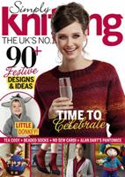 مجله بافتنی Simply Knitting دسامبر ۲۰۱۵