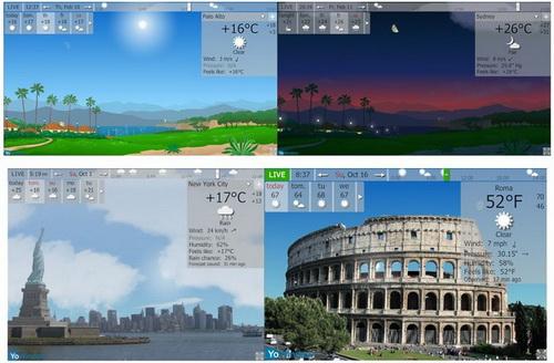 دانلود YoWindow Unlimited Edition  | نرم افزار هواشناسی |