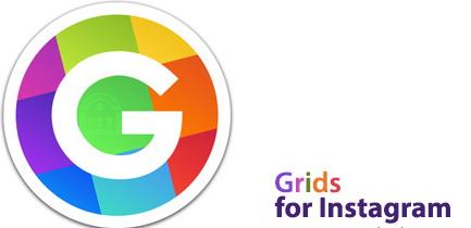 نرم افزار کاربردی Grids for Instagram یا همان اینستاگرام