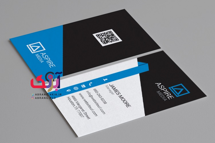 دانلود کارت ویزیت شخصی و شرکتی به صورت لایه باز - 5