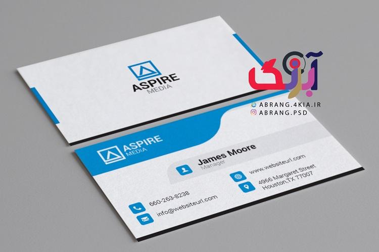 دانلود کارت ویزیت شخصی و شرکتی به صورت لایه باز - 6
