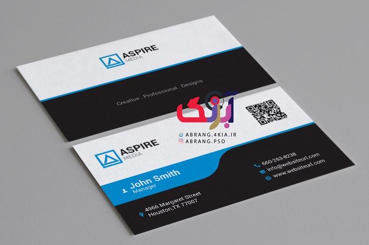 دانلود کارت ویزیت شخصی و شرکتی به صورت لایه باز - 7