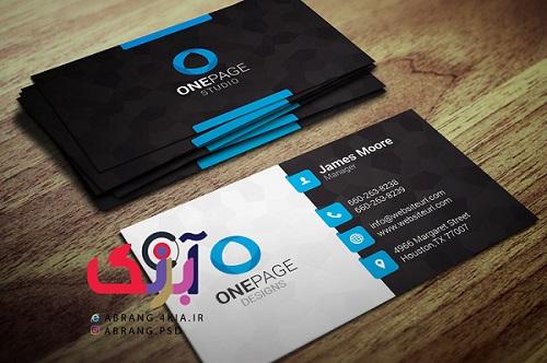 دانلود کارت ویزیت شخصی و شرکتی به صورت لایه باز -10